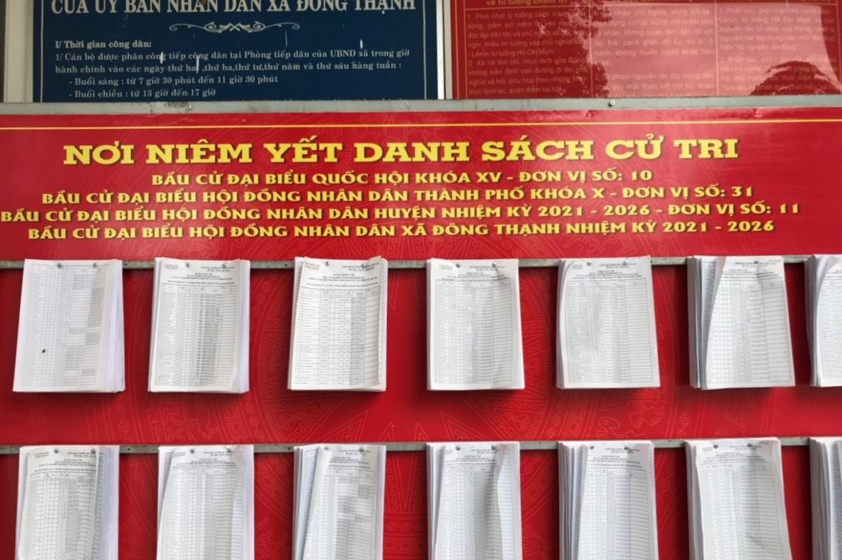 Xã Đông Thạnh, huyện Hóc Môn, TP Hồ Chí Minh: Làm tốt công tác tuyên truyền trước ngày bầu cử