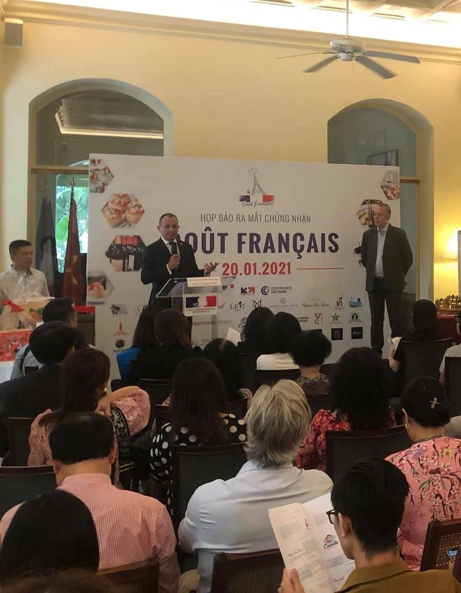 Tổng lãnh sự quán Pháp tại TP. Hồ Chí Minh họp báo giới thiệu chứng nhận Goût Français