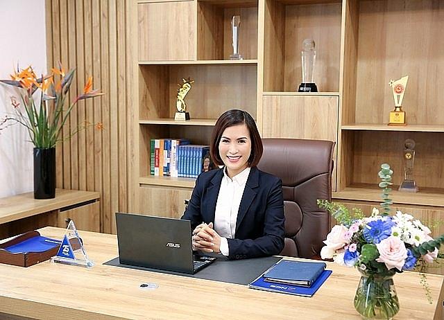 Bà Bùi Thị Thanh Hương, tân Chủ Tịch HĐQT NCB. (Ảnh: NCB)