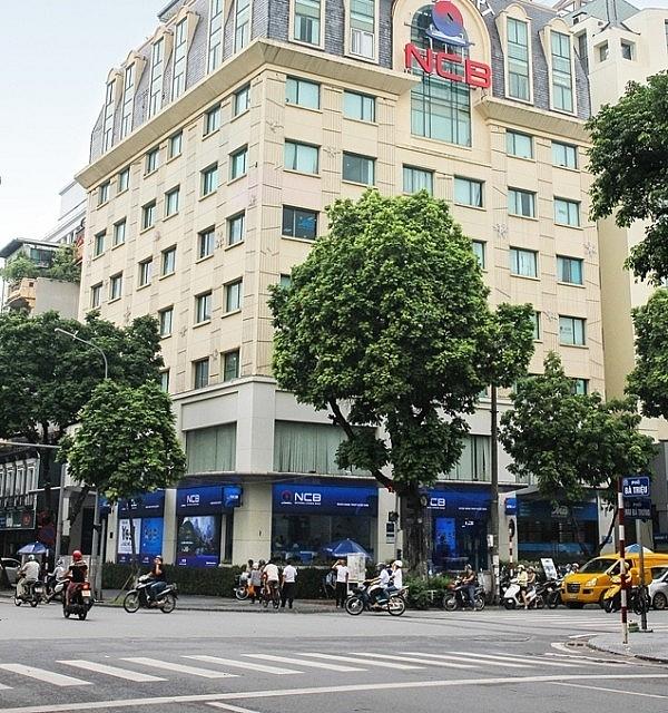Trụ sở NCB trên phố Bà Triệu, Hà Nội. Ảnh: NCB