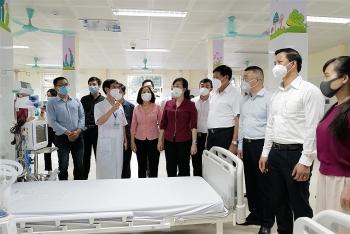 Trung tâm hồi sức tích cực tại Bắc Ninh do Sun Group tài trợ lắp đặt chính thức vận hành