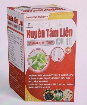 Bộ Y tế cảnh báo 2 sản phẩm Xuyên Tâm Liên