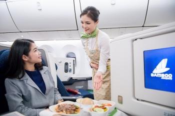 Hé lộ hành trình bay đẳng cấp với Hạng Thương gia Bamboo Airways