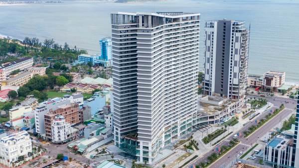 Toàn cảnh tòa tháp đôi FLC Sea Tower trên cung đường biển đẹp nhất Quy Nhơn
