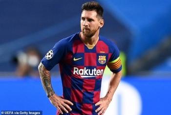 Siêu sao Lionel Messi quyết định chấm dứt