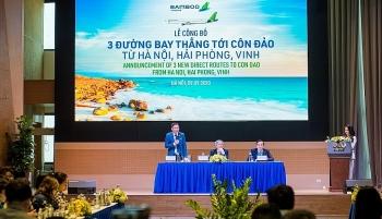 Từ 29/9, Bamboo Airways bay thẳng giữa Côn Đảo và Hà Nội, Hải Phòng, Vinh