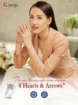 Với trang sức kim cương 8 Hearts & 8 Arrows, ai cũng có thể tỏa sáng