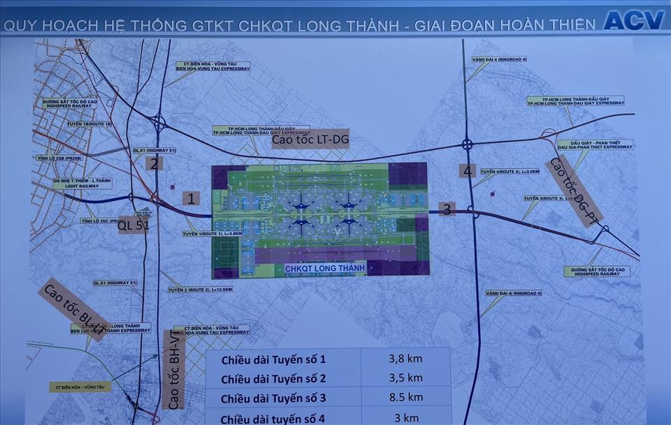 Quy hoạch thiết kế sân bay Long Thành. Ảnh KH