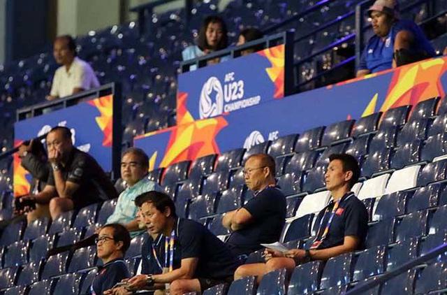 HLV Park Hang Seo trực tiếp do thám U23 Jordan và U23 Triều Tiên - 1