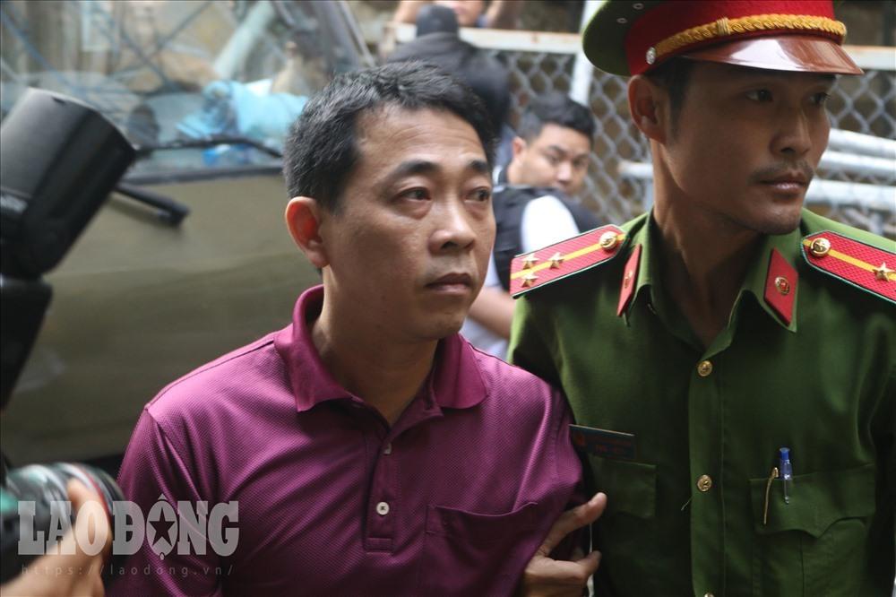 Bị cáo Nguyễn Minh Hùng - Cựu chủ tịch công ty VN Pharma bị tuyên 17 năm tù tại bản án sơ thẩm.
