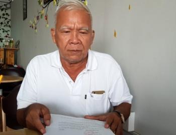 Ông già 69 tuổi tố Phó Cục trưởng Cục Thi hành án dân sự tỉnh Sóc Trăng lừa đảo