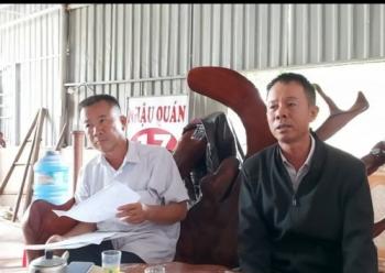Huyện Đắk'Lấp, tỉnh Đắk Nông: Đất đang tranh chấp vẫn ngang nhiên xây dựng công trình