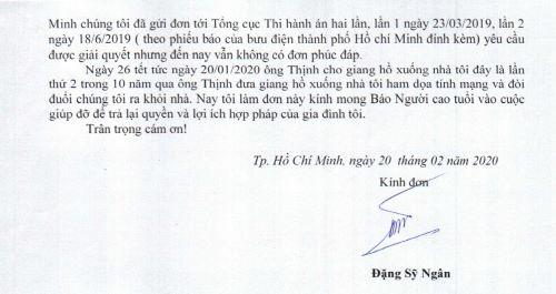 """Thi hành án Quyết định công nhận thỏa thuận """"Trả lại tiền"""" ở quận Bình Tân, TP Hồ Chí Minh: Đương sự đã bị """"tước đoạt"""" quyền thi hành án như thế nào"""