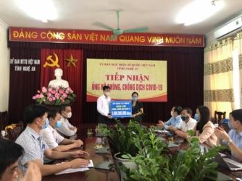 Tập đoàn của bầu Hiển ủng hộ thêm 5 tỷ đồng hỗ trợ chống dịch COVID-19 tại Nghệ An