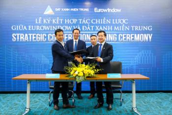 Eurowindow cung cấp sản phẩm cửa nhôm và vách nhôm kính lớn cho siêu dự án One River Villas