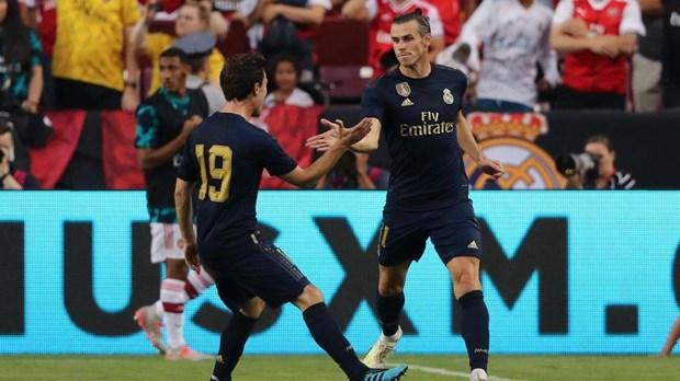 Bale ghi bàn, mở đầu cho màn ngược dòng của Real. (Nguồn: Eurosport Asia)