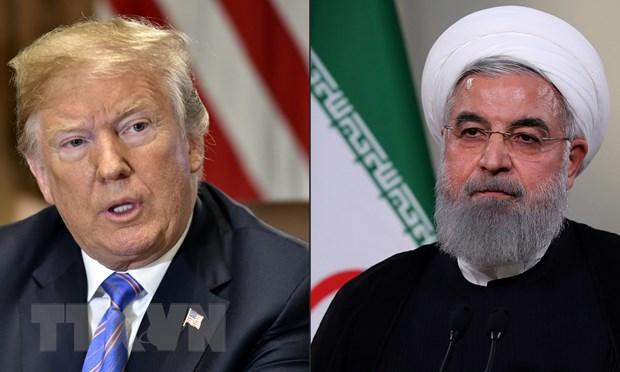 Tổng thống Mỹ Donald Trump (trái) và người đồng cấp Iran Hassan Rouhani (phải). (Nguồn: AFP/TTXVN)