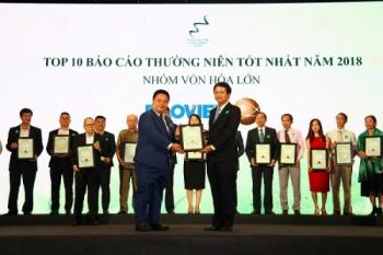 """Lập """"hattrick"""" giải thưởng doanh nghiệp niêm yết năm 2018, Bảo Việt vẫn lọt vào danh sách bị cưỡng chế thuế"""