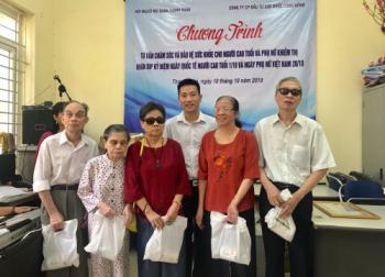 Hội Người mù quận Thanh Xuân (Hà Nội): Tư vấn sức khỏe cho các hội viên là NCT và phụ nữ