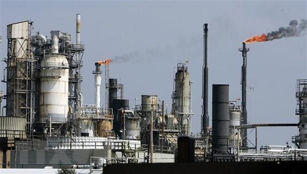 Một cơ sở lọc dầu tại Texas, Mỹ. (Ảnh: AFP/ TTXVN)