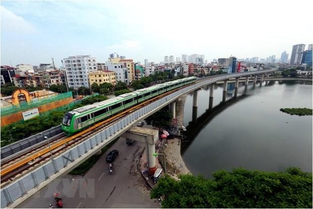 Toàn bộ 13 đoàn tàu của tuyến đường sắt Cát Linh-Hà Đông đã được chạy thử nghiệm an toàn.