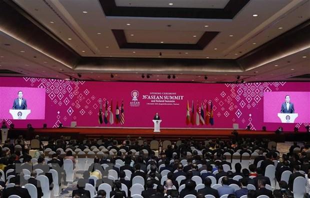 Lễ khai mạc Hội nghị Cấp cao ASEAN lần thứ 35.