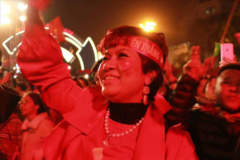 Nụ cười rạng rỡ khi môn bóng đá nam SEA Games 30 gọi tên nhà vô địch Việt Nam