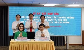 Trung tâm báo chí TP.Hồ Chí Minh và UBND TP Thủ Đức ký kết hợp tác thông tin, truyền thông