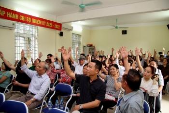 100% cử tri nhất trí giới thiệu ông Trương Xuân Cừ ứng cử đại biểu Quốc hội khóa XV