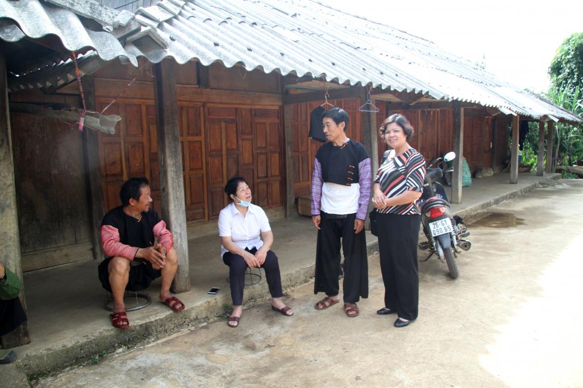 Những Chi hội trưởng người cao tuổi ở bản vùng cao Tà Số