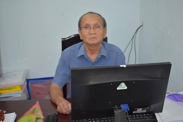 Ông Lê Hồng Sáng, Chủ tịch Hội NCT thị trấn Hóc Môn