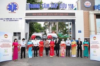 Tập đoàn Novaland tặng xe cứu thương trị giá 5 tỉ đồng