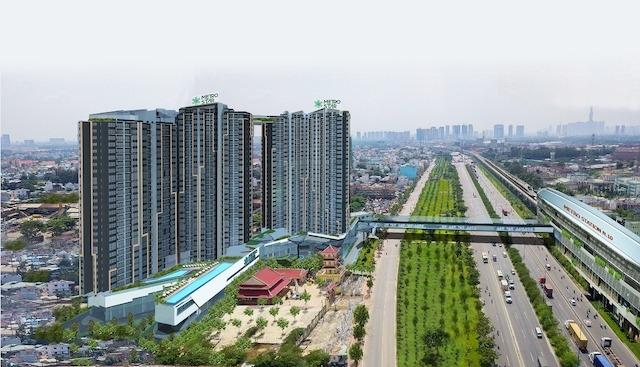 Dự án Phối cảnh dự án Metro Star tại 360 Xa lộ Hà Nội, quận 9