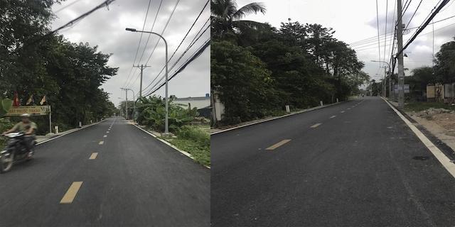 Tuyến Đường Nhị Bình đạt tiêu chí với tiến độ thực hiện Nông thôn mới
