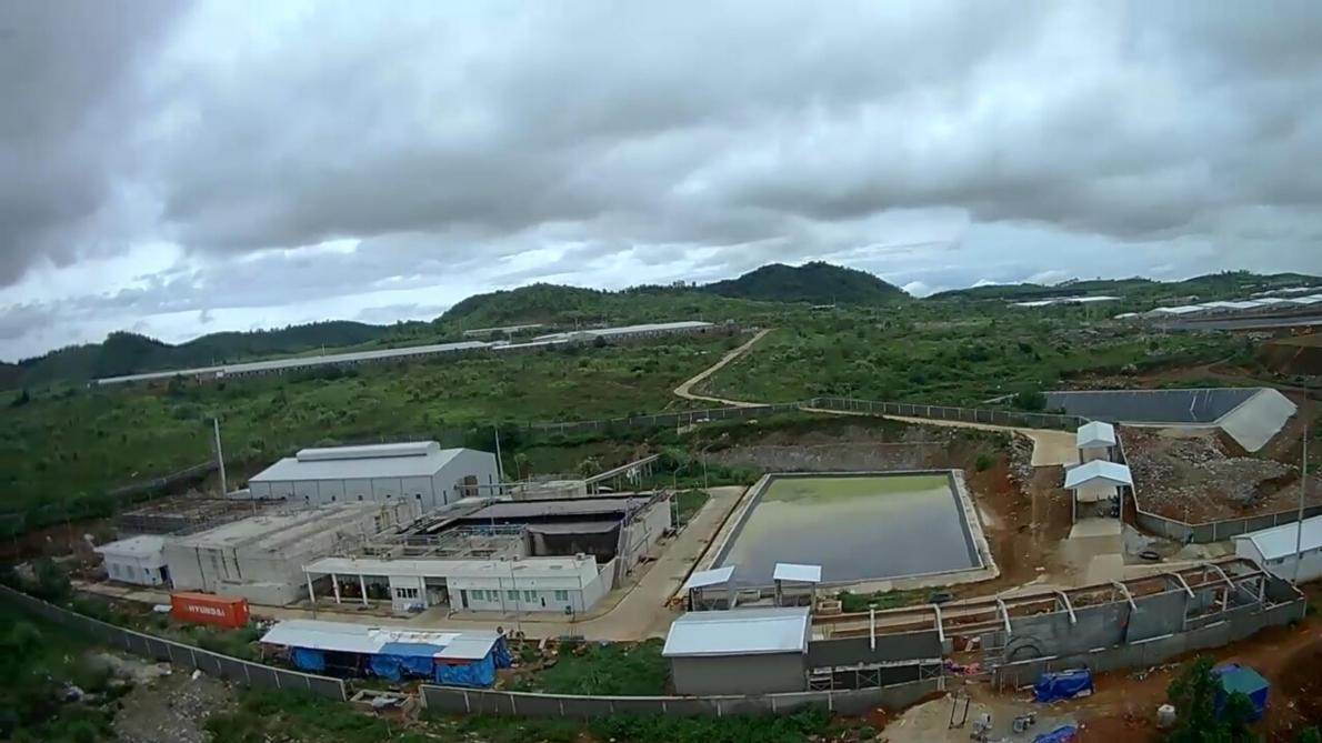 Trang trại chăn nuôi lợn của Masan tại Nghệ An