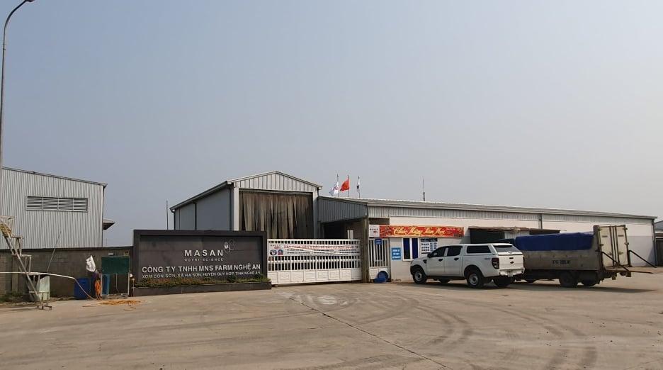cầu Công ty TNHH Masan Nutri – Farm