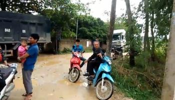 Huyện Sơn Dương, tỉnh Tuyên Quang: Doanh nghiệp Lê Phát An khai thác cát phá nát đường dân sinh, hủy hoại môi trường