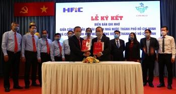 Lễ ký kết hợp tác giữa CITENCO và HFIC vì một thành phố xanh, sạch, đẹp