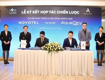 Tập đoàn Novaland hợp tác cùng Tập đoàn Accor về phát triển vận hành khách sạn Novotel
