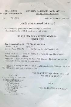 Án của TAND tỉnh Cà Mau xử căn cứ vào bằng chứng sai sự thật