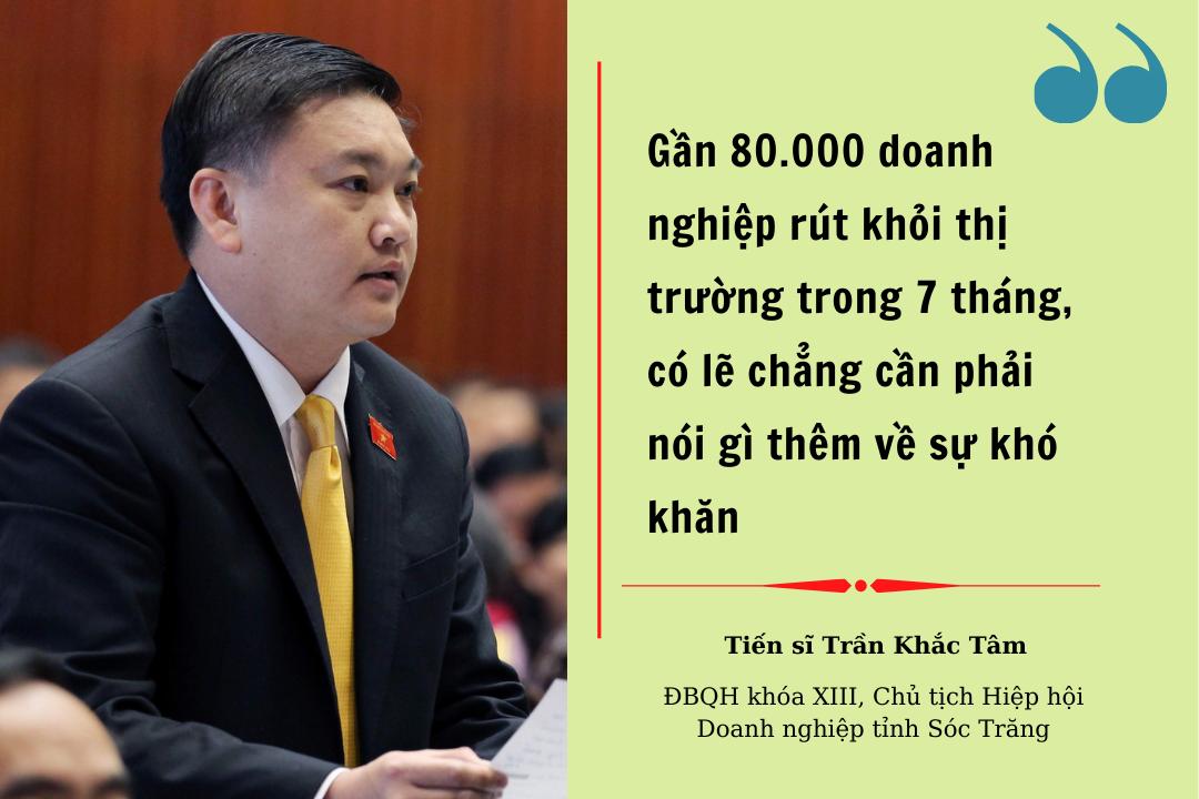 """TS Trần Khắc Tâm: """"Vaccine ngân hàng"""" là """"cứu cánh"""" để doanh nghiệp sinh tồn"""