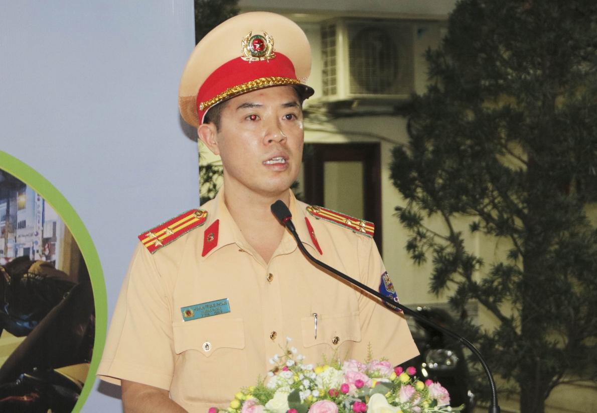 Công an TP. Hồ Chí Minh ra quân đảm bảo an toàn và phòng, chống tình trạng đua xe trái phép
