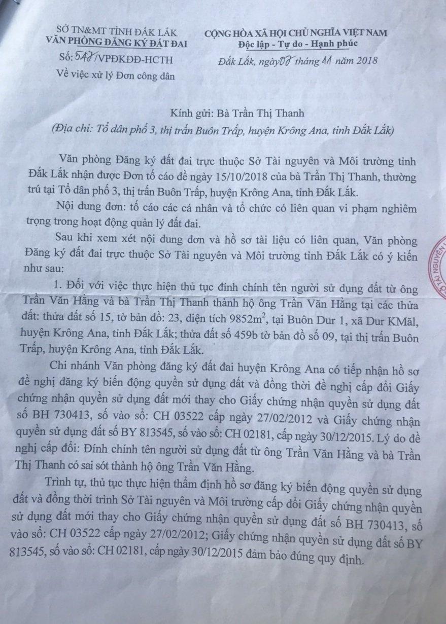 Tỉnh Đắk Lắk: Nhiều dấu hiệu làm trái từ một vụ án ly hôn