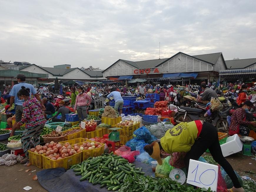 TP Hồ Chí Minh: Những điều bất cập ở chợ đầu mối Thủ Đức
