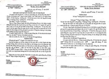 C03, Bộ Công an đề nghị PC03, Công an TP Hà Nội xem xét, giải quyết đúng pháp luật