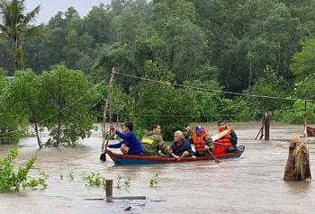 Người cao tuổi và công tác phòng chống lụt bão