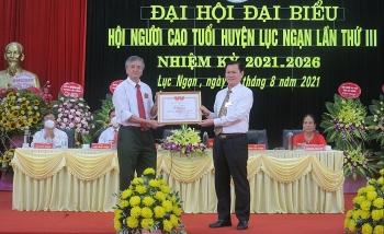 Hội NCT huyện Lục Ngạn, tỉnh Bắc Giang: Một nhiệm kì có bước tiến vượt bậc