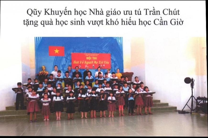 Quỹ khuyến học Trần Chút