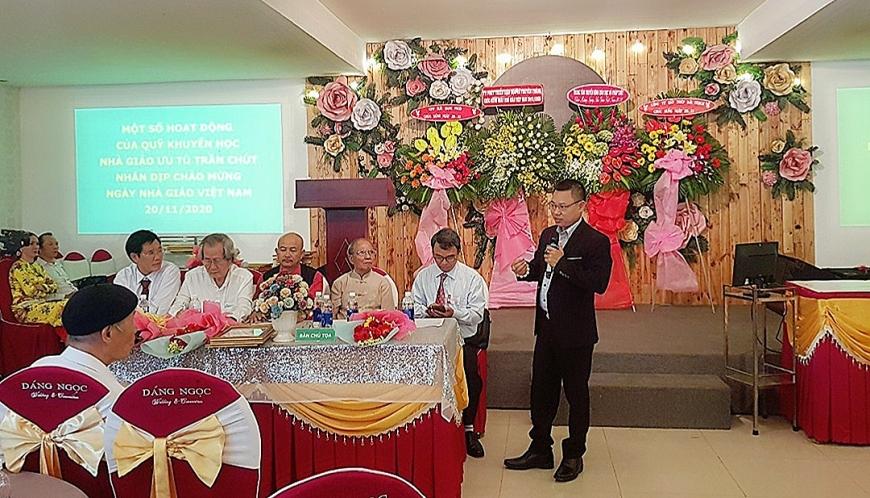 Anh Trần Văn Lân, Giám đốc công ty CPTM DV Liệu Nam Long phát biểu
